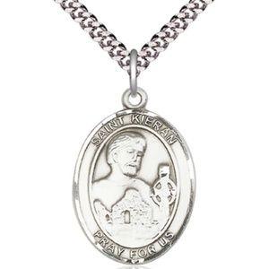 Sterling Silver St Kieran Pendant